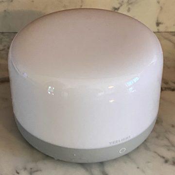 Recensione Yeelight YLCT01YL, lampada da comodino homekit e USB-C