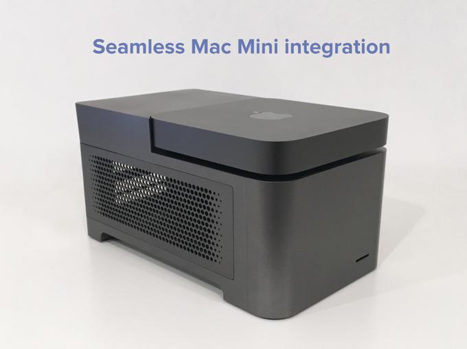 Animaionic trasforma il Mac mini in un piccolo Mac Pro