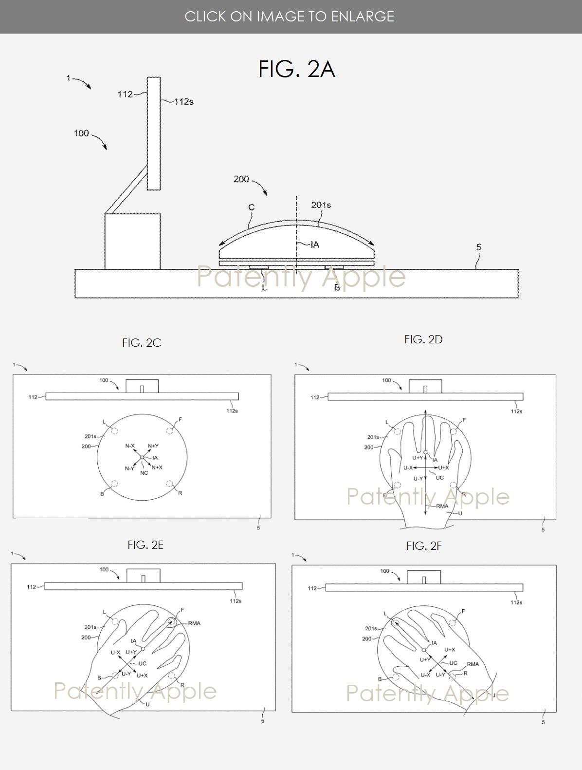 In un brevetto di Apple riferimenti al Magic Mouse Pro?