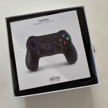 Aiino HeroPad, il controller di gioco per Apple Arcade funziona su iPhone, iPad e Apple TV e… Android