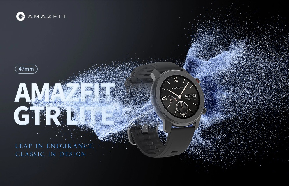 Super offerta: lo smartwatch Amazfit GTR 47mm Lite Edition a meno di 100 euro per i primi 1000 ordini