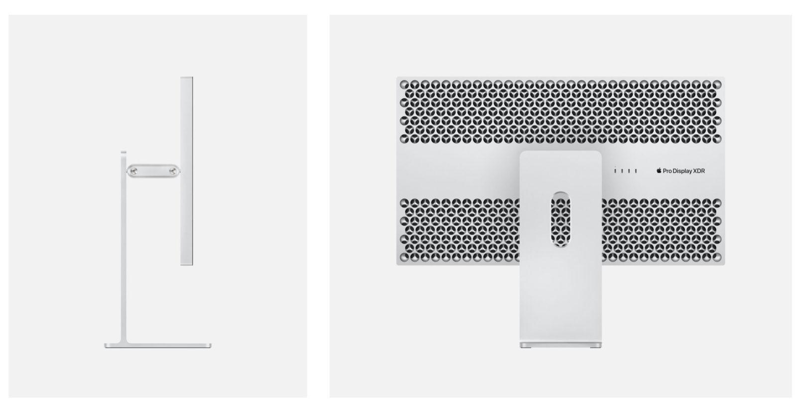 L'Apple Pro Display XDR in vetro con nanotexture deve essere pulito con un panno speciale