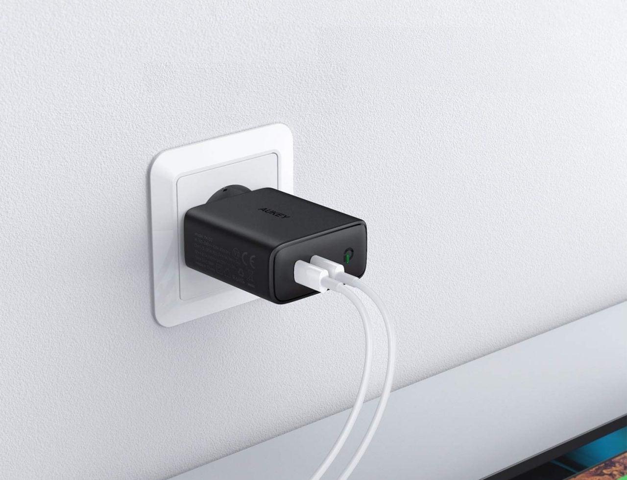 Alimentatore 61w USB-C Power Adattatore tipo-C cavo di ricarica per Apple MacBook SAMSUNG LG