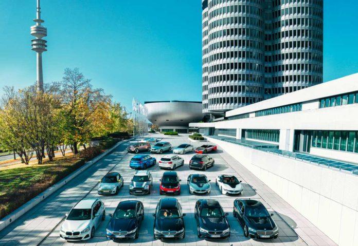 BMW: mezzo milione le vetture elettrificate del gruppo sulle strade