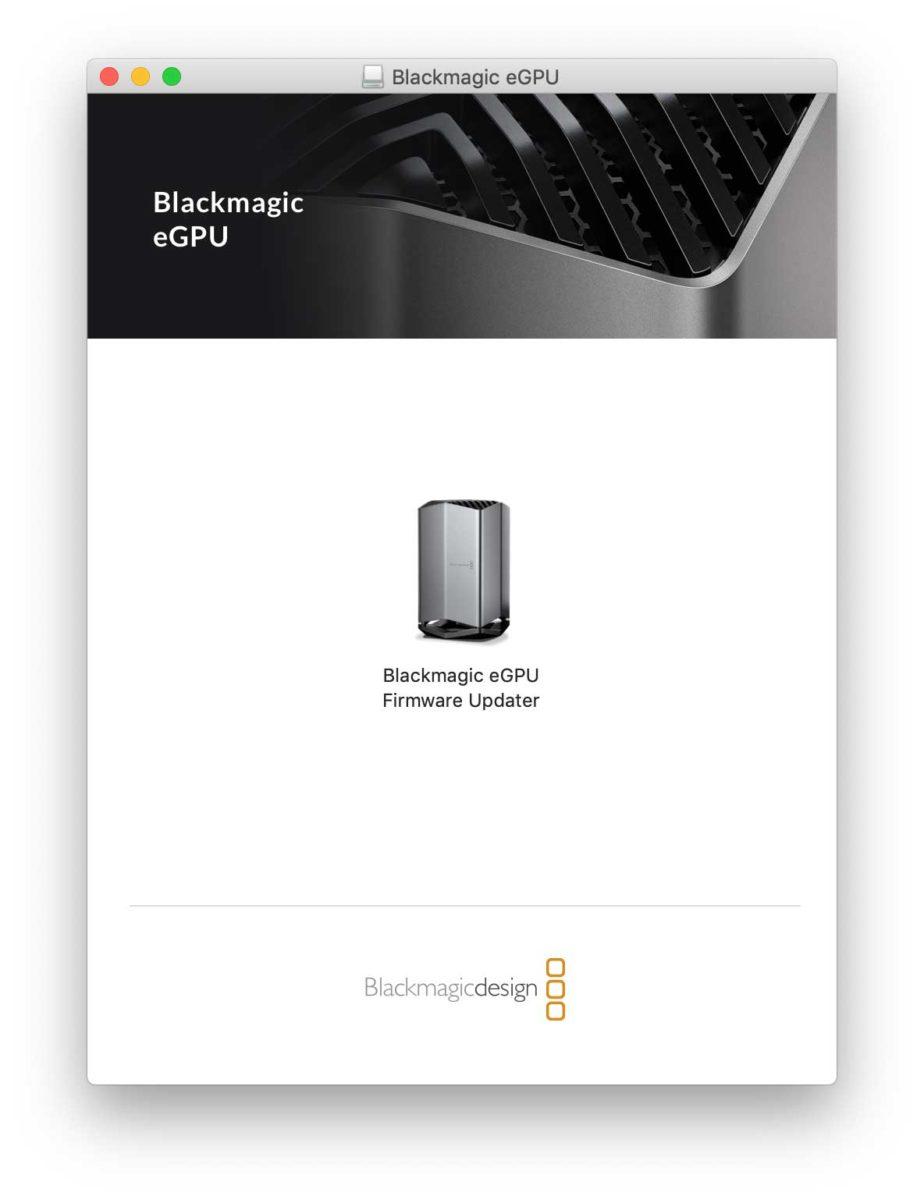 Blackmagic, disponibile il firmware per le eGPU con supporto al Pro Display XDR
