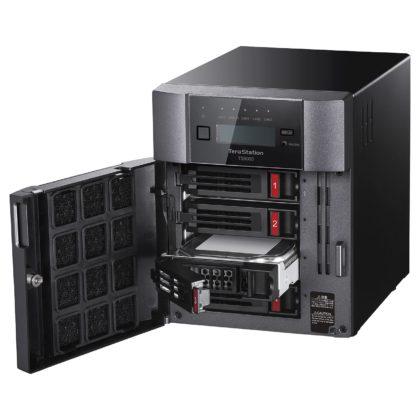 Recensione Buffalo TeraStation TS6400DN, in prova il 4 bay per l'archiviazione specializzata made in Japan
