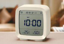 CGD1 orologio bluetooth smart 3 in 1: termometro, igrometro e sveglia in offerta
