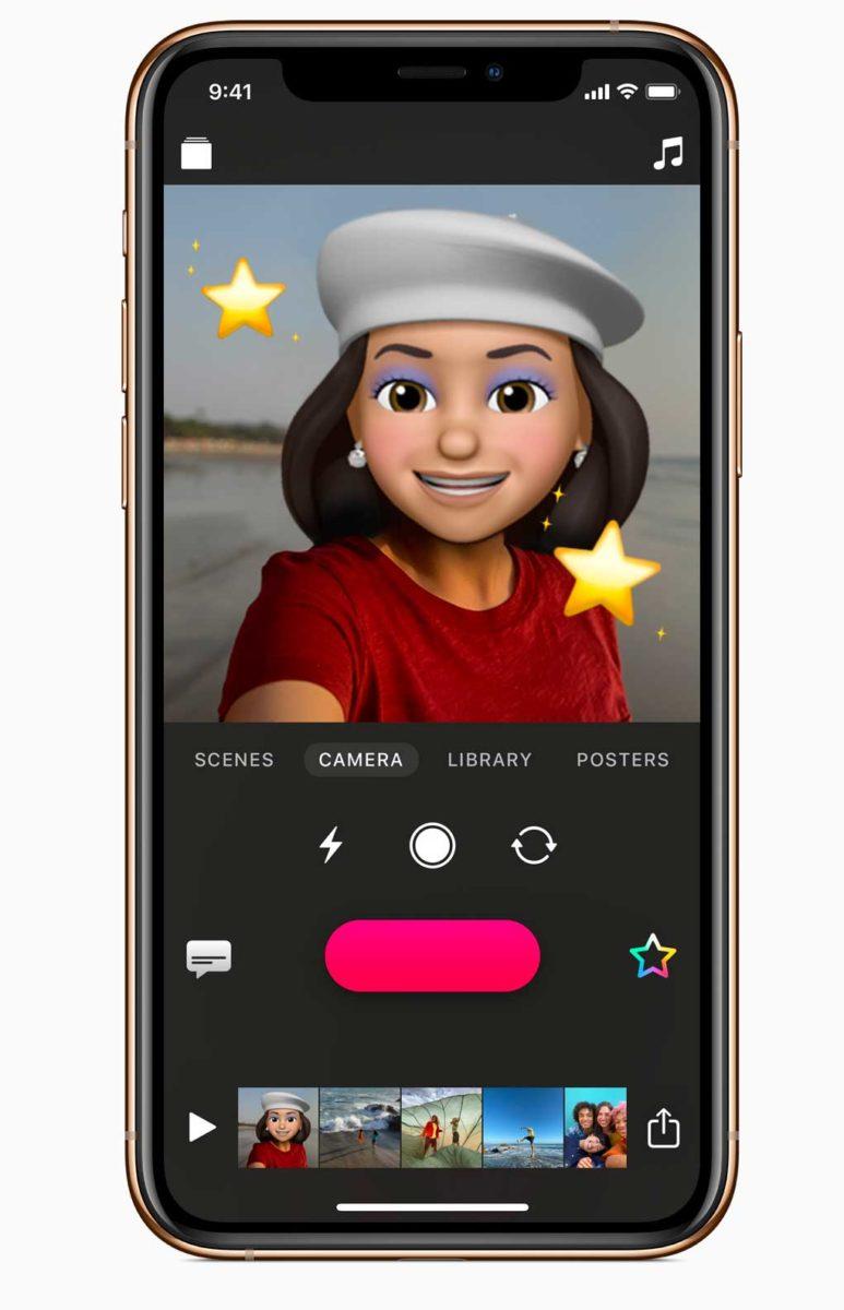 L'app Clips di Apple ora con Memoji, Animoji, nuovi adesivi e altro
