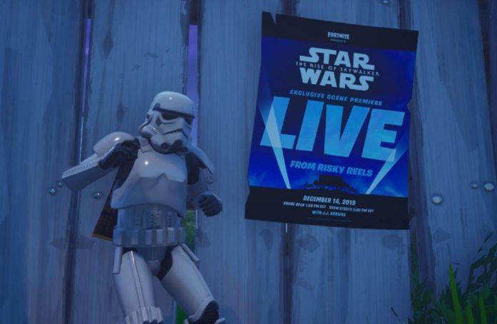 Fortnite presenta in anteprima una scena del nuovo Star Wars