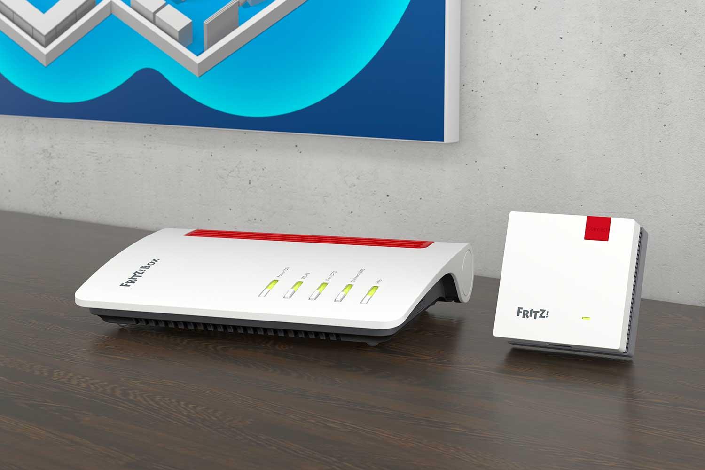 FRITZ!Box 7530 e FRITZ!Repeater 1200: un kit completo per una rete Mesh ad alte prestazioni