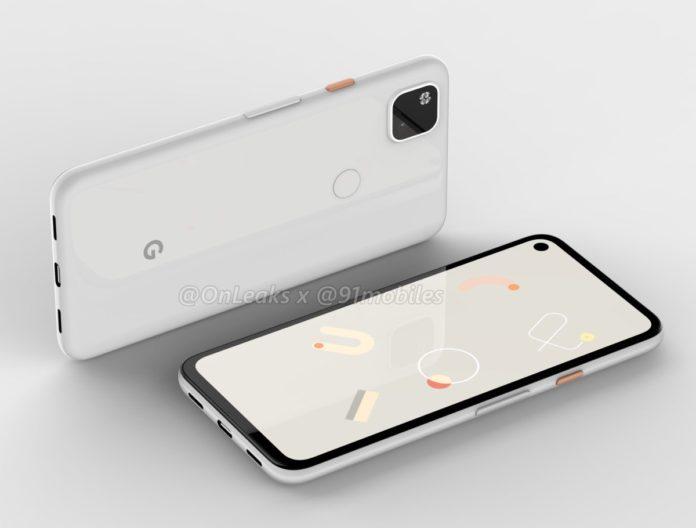 Google Pixel 4a potrebbe essere così