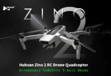 In offerta lancio Hubsan Zino 2, il nuovo drone 4K a 60FPS con gimbal a 3 assi