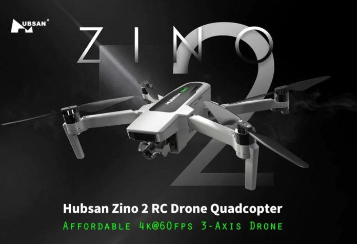 In offerta lancio Hubsan Zino 2, il nuovo drone 4K a 60FPS con gimbal a 3 assi