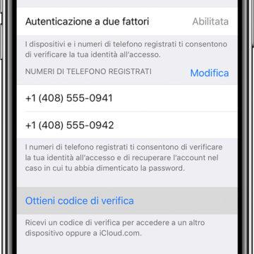 Autenticazione Apple a due fattori, consigli utili per chi viaggia all'estero