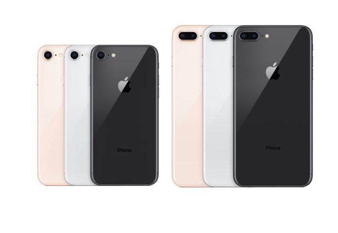 iPhone 8 a 479 €, iPhone 8 Plus 256 GB 686 €