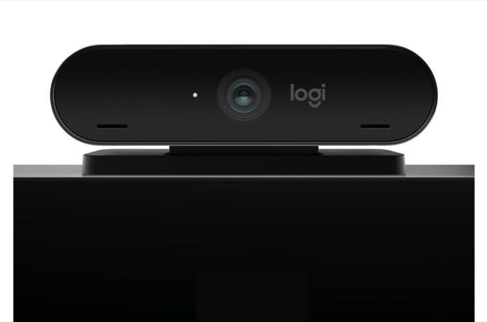 Logitech webcam per schermo Apple
