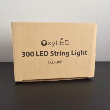 Recensione OxyLED TXD-300, la catena di luci LED con filo di rame