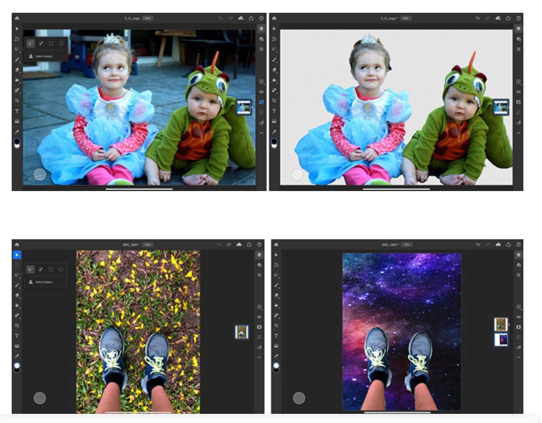 """Photoshop per iPad ora con funzione """"Seleziona oggetto"""" e altre novità"""