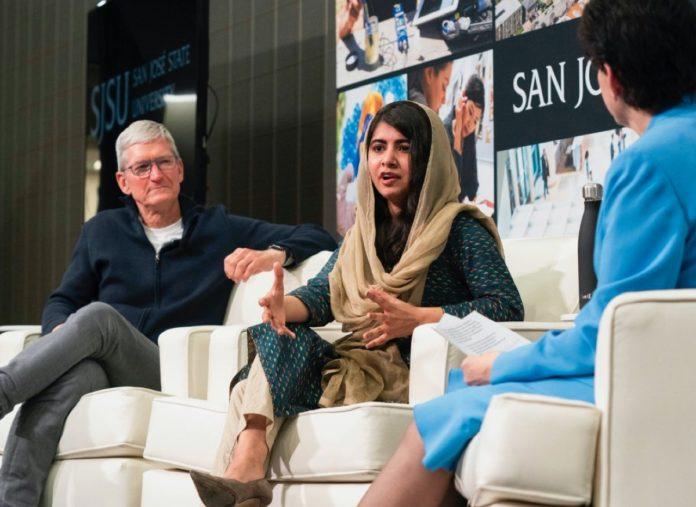 Apple e Malala insieme per l'istruzione delle ragazze