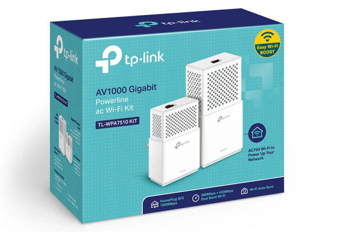 Recensione Kit Powerline TL-WPA7510, adattatore Wi-Fi ac con porta Gigabit