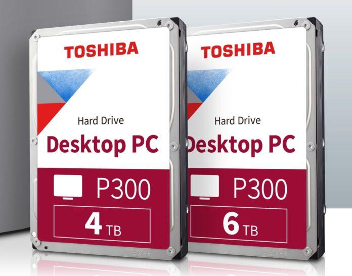 Toshiba P300 Desktop PC sono i nuovi dischi fissi da 4TB e 6TB