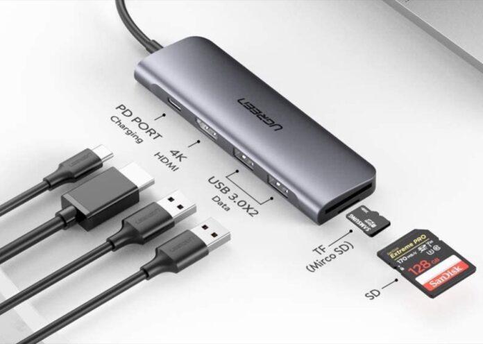 Ultime ore: hub USB-C in alluminio con 6 funzioni in 1 a soli 23,99 euro
