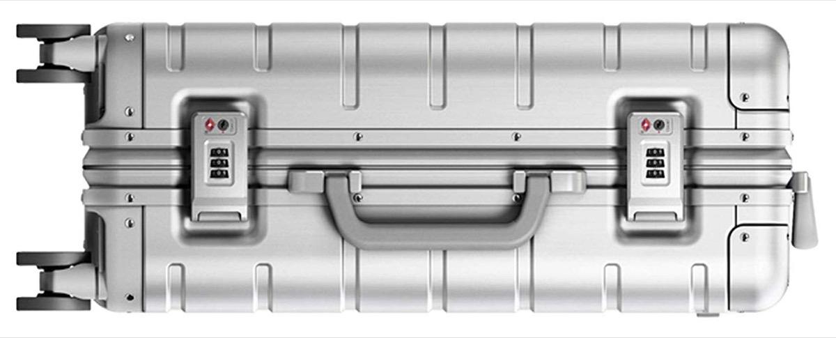 Il trolley in metallo di Xiaomi sbarca su Amazon Italia