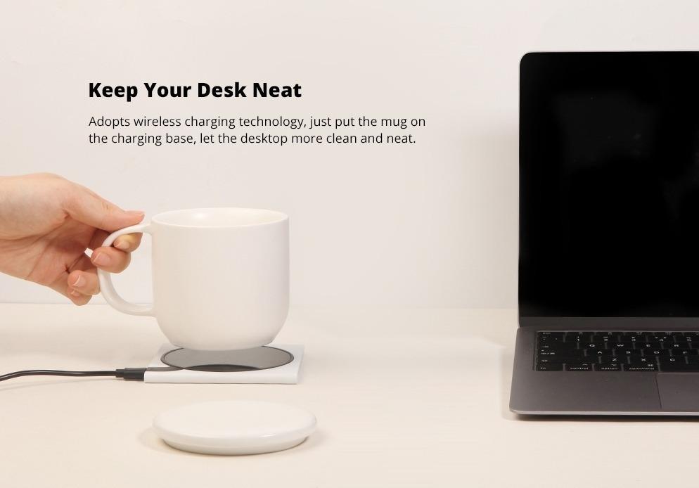 Xiaomi VH, la geniale tazza wireless per il caffè che vi ricarica anche l'iPhone