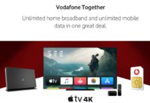 Vodafone include Apple TV 4K con alcuni piani in Regno Unito