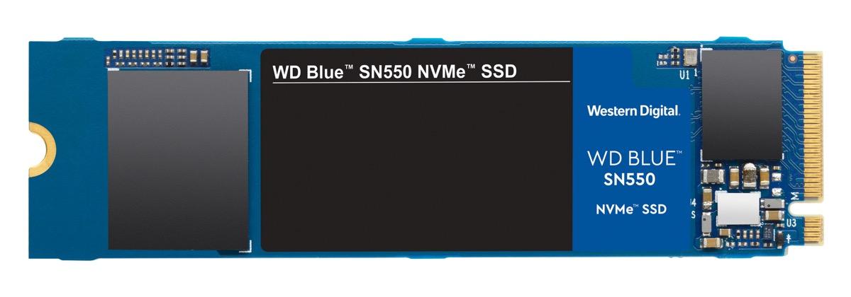 WD Blue SN550, l'SSD che viaggia a 2.400 MB/s