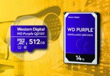 WD Purple 14 TB, il super-disco a misura di videosorveglianza