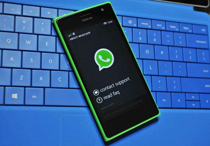 WhatsApp, addio al supporto Windows Phone e vecchi Android