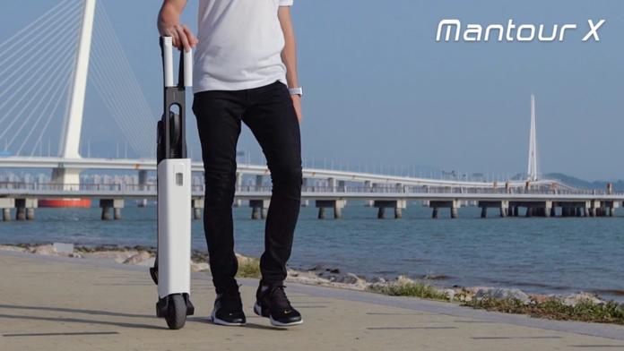 Mantour X è il nuovo scooter elettrico auto bilanciato che pesa solo 7 kg