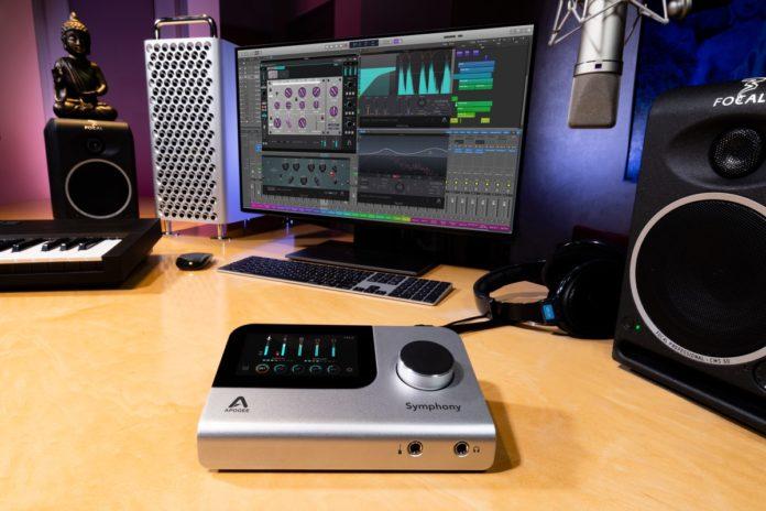 Apogee Symphony Desktop, al NAMM 2020 la scheda audio da scrivania