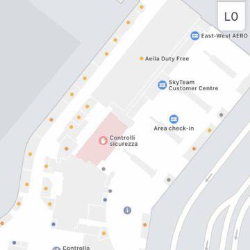 I terminal dell'aeroporto di Praga sono mappati al millimetro grazie ad Apple