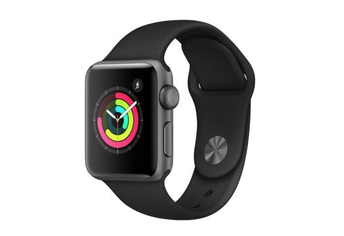 Apple Watch 3 da 38mm in sconto a solo 216,99 euro.