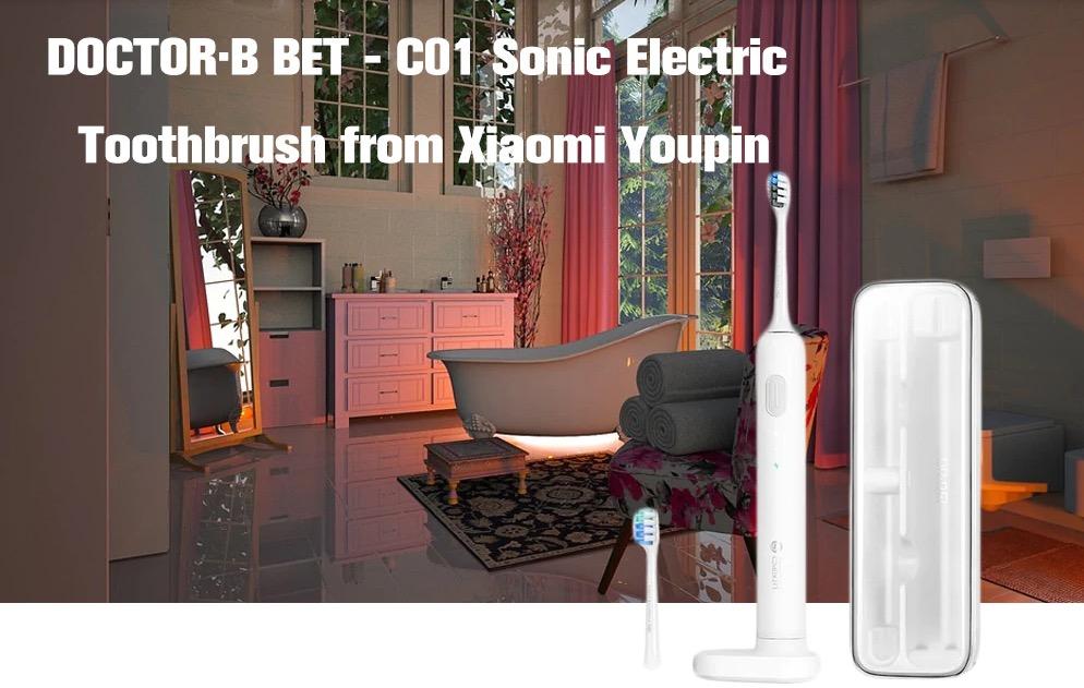Lo spazzolino DR.BEI BET C01 da Xiaomi Youpin in offera a 21,93 con codice sconto