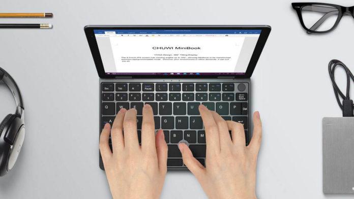 CHUWI MiniBook 360, il notebook tascabile con 8 GB di RAM in offerta a 388,28 euro