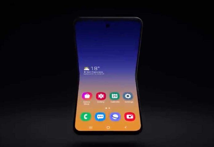Galaxy Z Flip, ecco come potrebbe essere il prossimo pieghevole Samsung