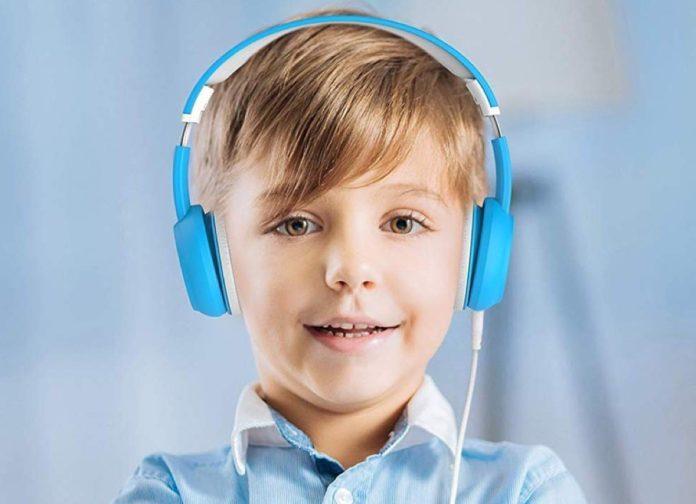 Cuffie over-ear per bambini con presa jack condivisibile in sconto a metà prezzo