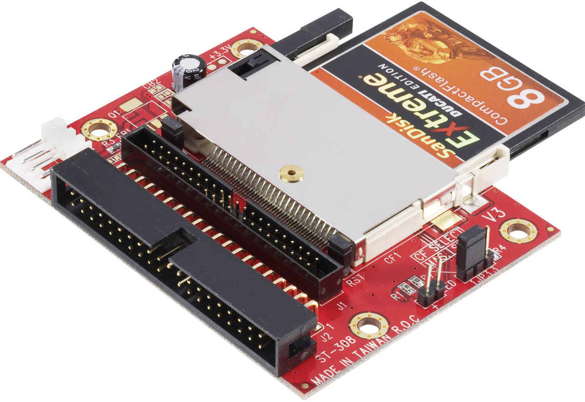 Come trasformare SD e Compact Flash in Hard Disk per vecchi computer e strumenti musicali - Macitynet.it