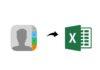 Come esportare i contatti da iPhone a un foglio su Excel