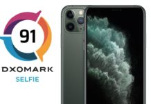 dxomark fotocamera iphone 11 pro max al 10 posto