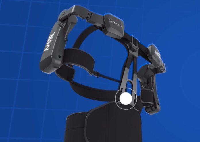 Con l'esoscheletro MATE i lavori manuali pesanti diventano leggeri