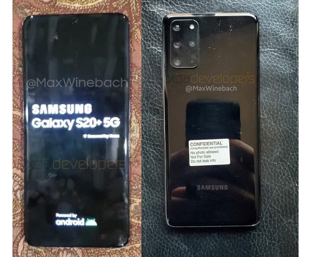 La prima foto di Galaxy S20+ conferma un blocco fotocamere da paura