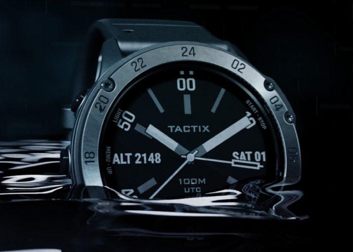 Garmin Tactix Delta, lo sportwatch ispirato al mondo tattico
