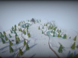 Grand Mountain Adventure, l'open word game di sci e snowboard gratis su iPhone