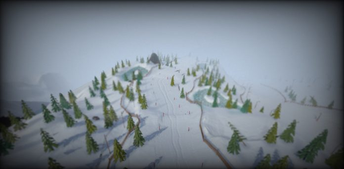 Grand Mountain Adventure, l'open word game di sci e snowboard gratis su iPhone