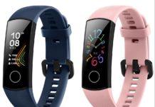 Huawei Honor Band 5 blu e rosa: il regalo perfetto per San Valentino per lui e per lei a 29 €