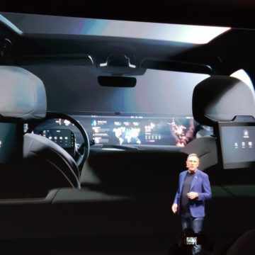"""CES 2020, Byton mostra il """"salotto digitale mobile"""" del SUV elettrico M-Byte"""